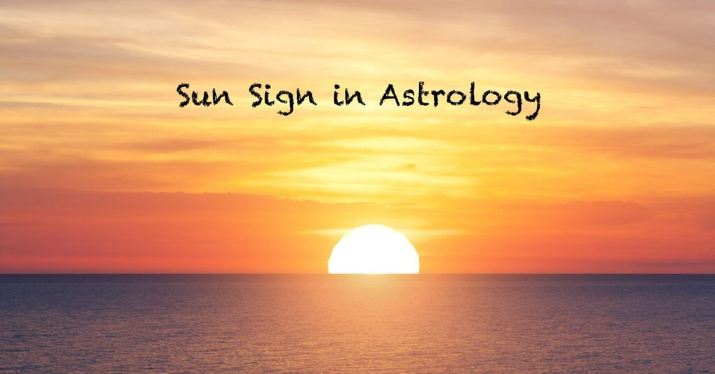 What is my sun sign in astrology