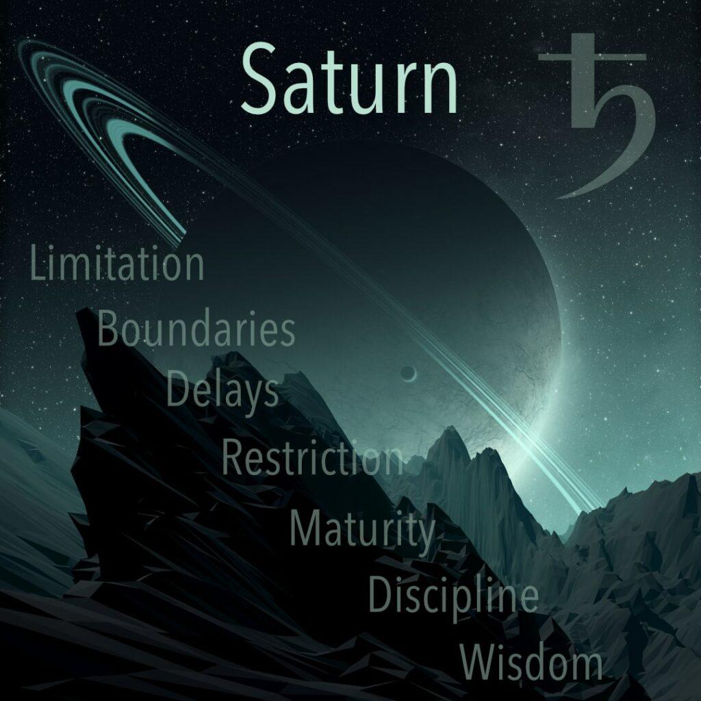 Saturn in Astrology. Saturn the hard task master